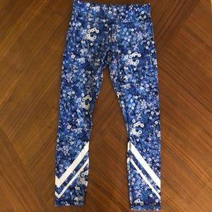 EUC Tory sport floral leggings size XS